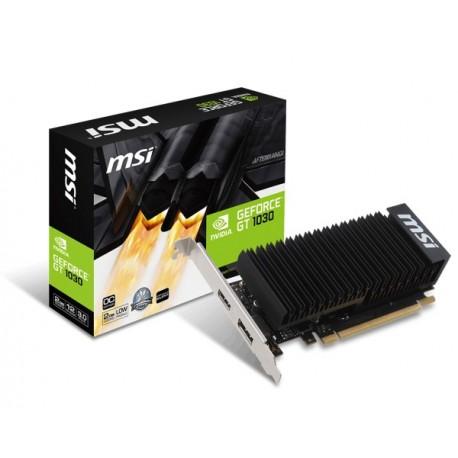 Видеокарта MSI GeForce GT 1030 2GB GDDR5 (GT 1030 2G LP OC) 1518/6008 DP,HDMI низкопрофильная