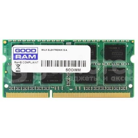 Память DDR3 SODIMM 4Gb 1600MHz GOODRAM 1.35V GR1600S3V64L11S/4G