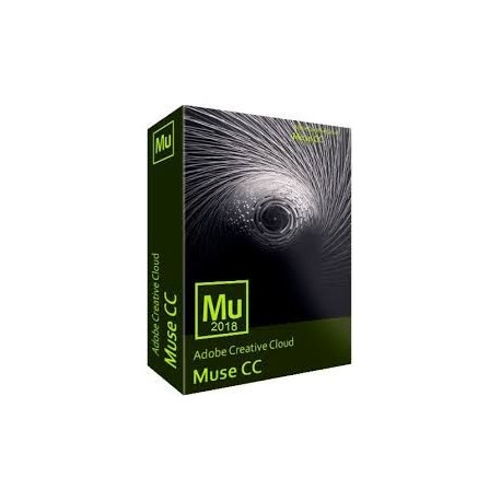 Adobe Muse CC for teams ALL Multiple Platforms Multi European Languages Team Licensing Subscription New