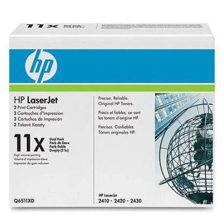 Картридж HP Q6511X_для LJ 2410/2420/2430, шт