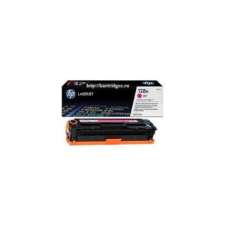 Картридж HP CE323A для Color LJ CP1525/CM1415 (128A) малиновый, шт