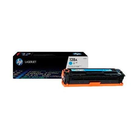 Картридж HP CE321A для Color LJ CP1525/CM1415 (128A) синий, шт