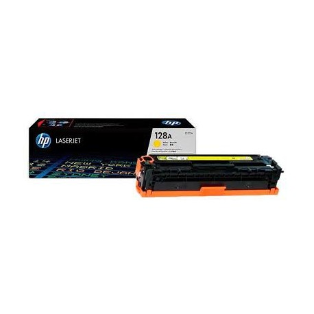 Картридж HP CE322A для Color LJ CP1525/CM1415 (128A) желтый, шт