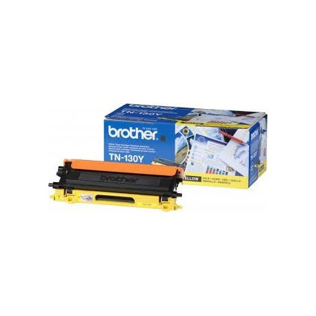 Картридж Brother TN-130Y (1500 стр.) желтый для HL-4040CN/4050CDN, DCP-9040CN, MFC-9440CN (Yellow) , шт