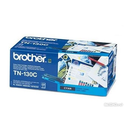 Картридж Brother TN-130C (HL-4040CN/4050CDN, DCP-9040CN, MFC-9440CN)