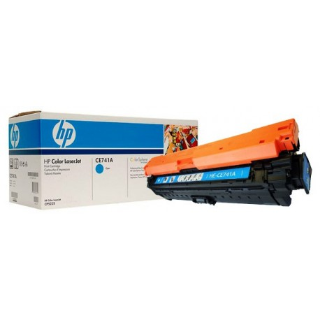 Картридж HP CE741A (HP Color LaserJet CP5220) голубой