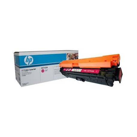 Картридж HP CE743A (HP Color LaserJet CP5220) пурпурный