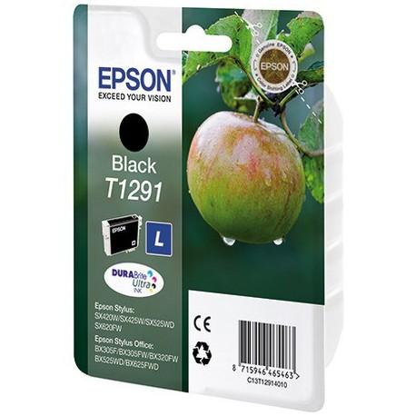 Картридж Epson (ЯБЛОКО) T1291 (SX420W/SX425W/BX320FW) черный