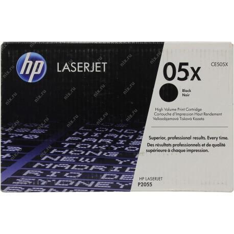 Картридж HP CE505X (№05X) (LJ P2055/P2055d/P2055dn)