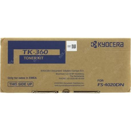 Тонер-картридж Kyocera ТК-360 (FS-4020DN без чипа)