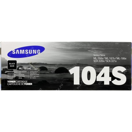 Картридж Samsung MLT-104S (ML-1665/ 1660, SCX-3200/ 3217)