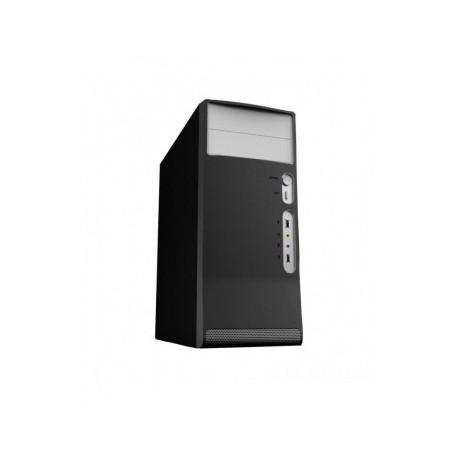 Корпус Inter-Tech 2369S, Midi Tower, ATX, PSU 500W black-Silver