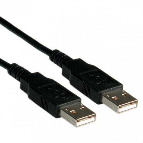 Кабель USB 2.0 A-A 3.0m sven