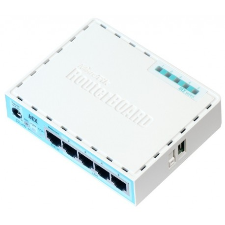 Маршрутизатор Mikrotik hEX RB750Gr3 5 портов 10/100/1000 Ethernet