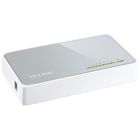 Коммутатор TP-LINK TL-SF1008D 8-port 10/100M