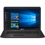 Ноутбук ASUS X756UV (Intel i3-6100U 2.3 GHz/17.3/1600x900/4Gb/500Gb/DVD-RW/GF920/Wi-fi/BT/W10)