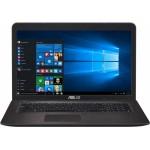 Ноутбук ASUS X756UV (Intel i3-6100U 2.3 GHz/17.3/1600x900/4Gb/500Gb/DVD-RW/GF920/Wi-fi/BT/W10)